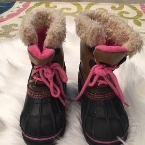 Girls gap snow boots